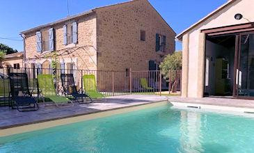 Maison Carrasco - Caux South France villas with pool