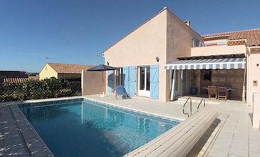 Villa Moore Pezenas holiday villa South France