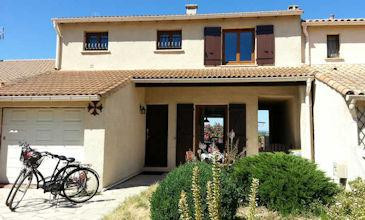 Maison Jardin - Marseillan cheap villa rentals South France