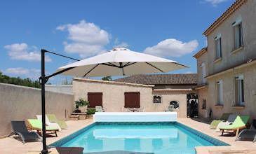 Sauvian arge coastal villas South France private pool