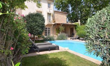 Maison des Oiseaux - Southern France villa pool near Pezenas