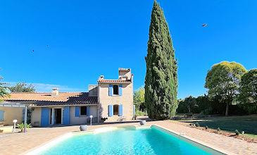 Villa Charpentier Sommieres South France