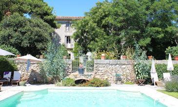 Beauregard Gite to rent on vineyard in Languedoc