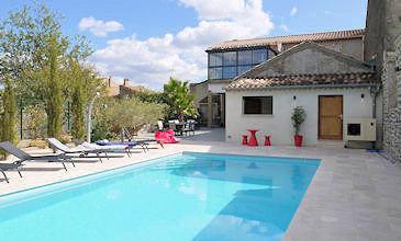 La Flamant Rose - large holiday villas South France