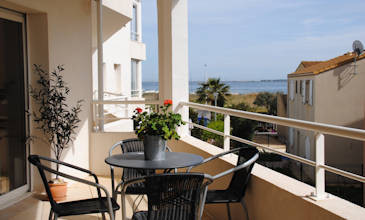 Apartment Couer - Marseillan Southern France holiday rentals