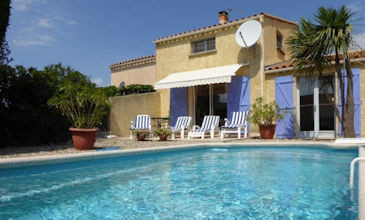 Villa Joli - Marseillan villa rental South France with pool