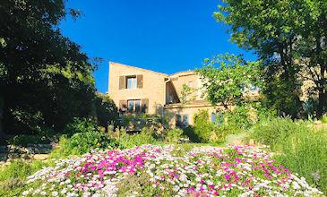 Maison La Bonheur large holiday villa South France with pool
