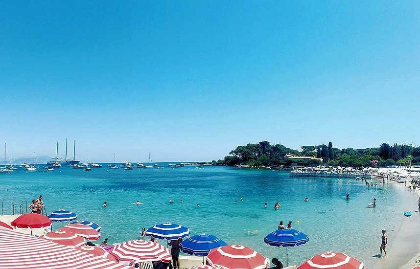 Best Cote d'Azur beach South France